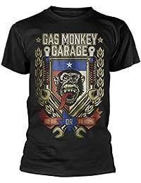 Gas Monkey Garage Go Big Or Go Home' T-Shirt