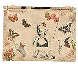DOGO Pochette Marliyn With Butterflies mehrfarbig