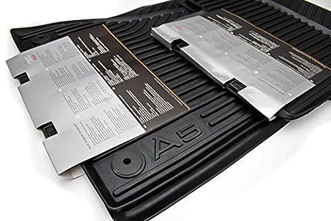 Pièces d'origine pour Audi tapis d'origine en caoutchouc (Audi A5 Coupe S5 Cabrio) - Audi A5 Cabrio