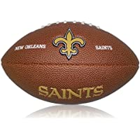 Wilson NFL Mini New Orleans Saints Logo Football