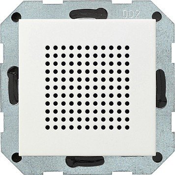 Preisvergleich Produktbild Gira 228203 Zusatz-Lautsprecher zum RDS Radio ST55, reinweiß-glänzend