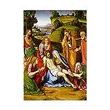 Wee Blue Coo Andrea Solario Italian Lamentation Art Picture Wall Art Print Italiano Immagine Parete