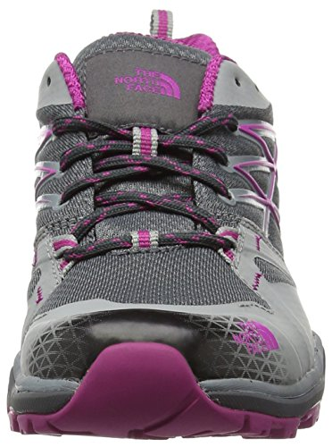 The North Face Damen W Hedgehog Fastpack Lite GTX Sneakers Mehrfarbig (Grfngr/Fuschpk Ju5)