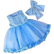 7a614ad0bd3c Amazon.it  Vestiti Da Principessa Per Bambina - LaoZan