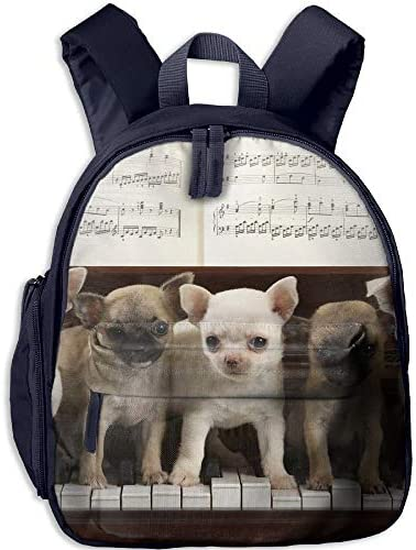 gfhfdhdfhtryh Backpack, School Backpack for Boys Girls Cute Cute Cute Fashion Mini Toddler Canvas Backpack, Cute Dogs on Pi | De La Mode