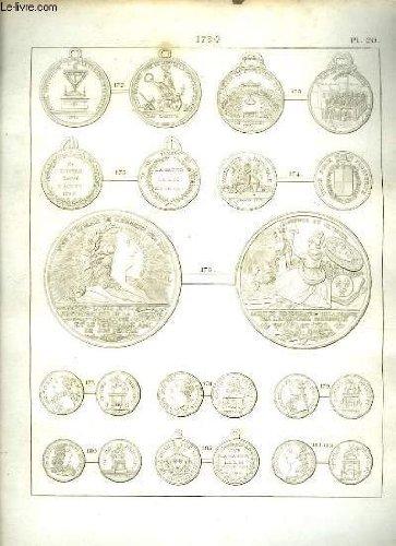Histoire numismatique de la révolution française. planche n°20 : 1970