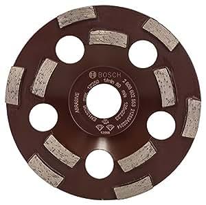 Bosch 2608602553 Meule assiette diamantée expert for abrasive 125 x 22,23 x 4,5 mm