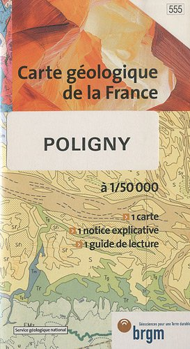 Carte géologique : Poligny