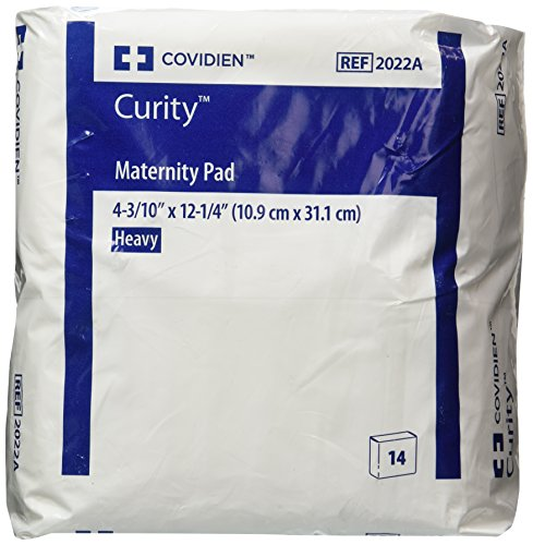 Covidien Curity Maternity Pad 2.75 x 11 (Bag of 14 Pads)