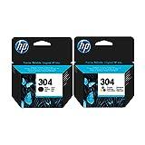 Schwarz und dreifarbig HP Tintenpatrone, für HP Deskjet 3720Drucker–Echter Tintenpatrone