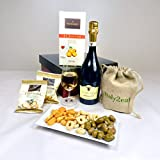 Prosecco Wine & Nibbles Gift - GREAT SUMMER OFFER 'cos they're a 'Grape' influence!