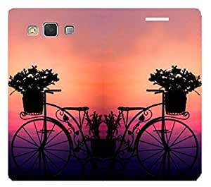 SAMSUNG GALAXY On5 Pro High Quality Leather Printed Flip Cover