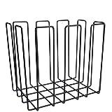 Balton Zeitungssammler eckig, Metall, beschichtet, schwarz 39,5x28,5x35cm