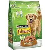 Friskies Adulto Alimento para Perros, Seco, con Aves Y Verduras Añadidas - 3 Kg
