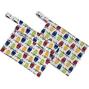 Reusable Bamboo Cloth Panty Liner Sanitary pad Bag Menstrual Underwear pad Washable Sanitary Napkin Cloth + Environmental Protection Aunt Towel Bag
