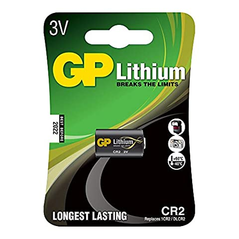 GP photo lithium CR2