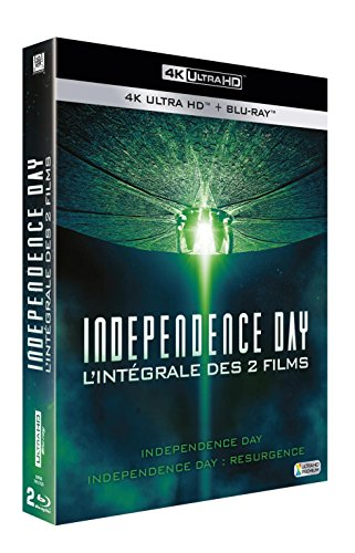 Independence Day + Independence Day : Resurgence [4K Ultra HD + Blu-ray + Digital HD]