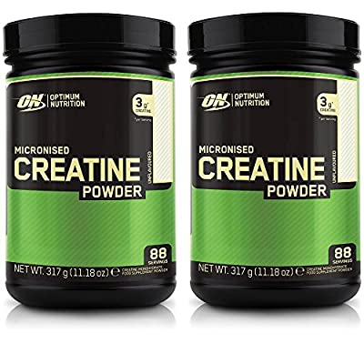 Optimum Nutrition Micronised Creatine Powder 317g x 2 = 634g from Optimum Nutrition