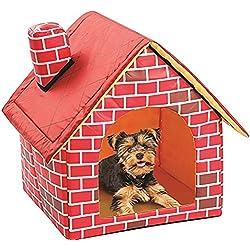 Portable Brique pour animal domestique Chien Maison pour chat conçu pour petits chiens et chats