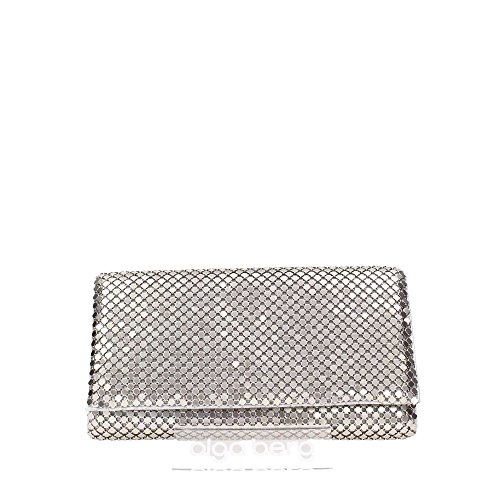 Olga Berg 0B5163 Borse Accessori Aluminium Mesh Silver Silver TU