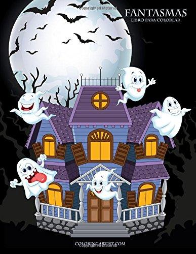 Fantasmas libro para colorear 1 (Halloween Fantasmas Colorear)