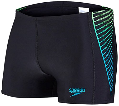 speedo-mens-colour-blend-colourblend-placement-panel-aquashorts-black-fluo-green-aquarium-size-34