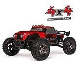 HAIBOXING Ferngesteuert Auto 2,4 GHz 4WD 1/12 RC Desert Buggy 38 KM/H Hoch Geschwindigkeits Mit 6 LED-Leuchten, Hydraulikdämpfer Wasserdicht RC elektro Lastwagen RTR Hobby-Klasse