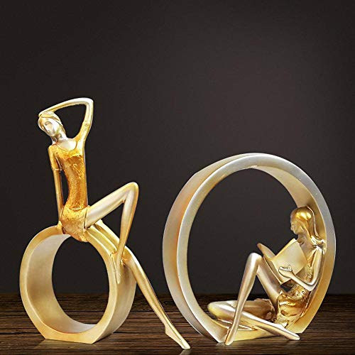 Kaige Desktop ornaments Living room Furniture TV abstract figure decoration room decorations home creative wedding