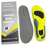 Boundletics Einlegesohlen für Sportschuhe & Arbeitsschuhe - Größe 44-49