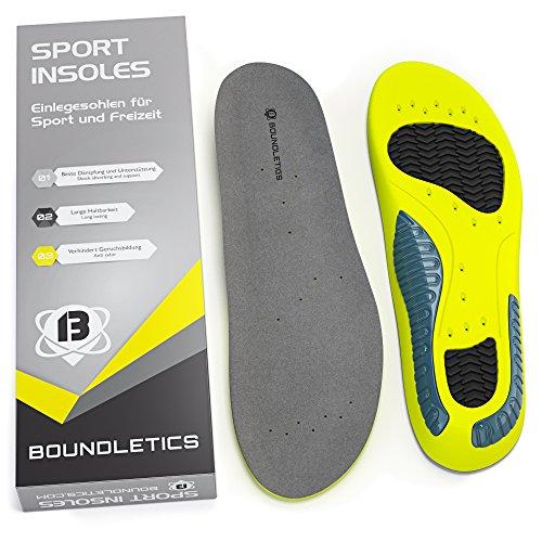 Boundletics Einlegesohlen für Sportschuhe & Arbeitsschuhe - Größe 36-43