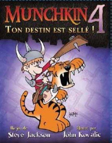 Asmodée - EFSJMU04 - Munchkin 4 - Ton Destin est Scellé - Jeu de Société