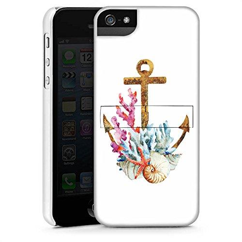 Apple iPhone X Silikon Hülle Case Schutzhülle Anker Maritim Sommer Premium Case StandUp