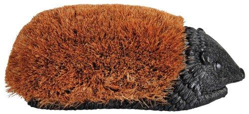 Schuhbürste Igel groß - Bürste zum Reinigen von Schuhen und Schuhsohlen, Igelform, ca. 39 x 20 x 14 cm