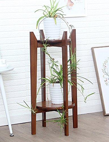 WSSF- Supports de pots Bambou Fleur Rack Multicouche Plante Verte Suspendue Orchidée Balcon Fleur Présentoir Plancher Intérieur Salon Fleur Pot Taille De Tablette En Option (taille : 30*80cm)