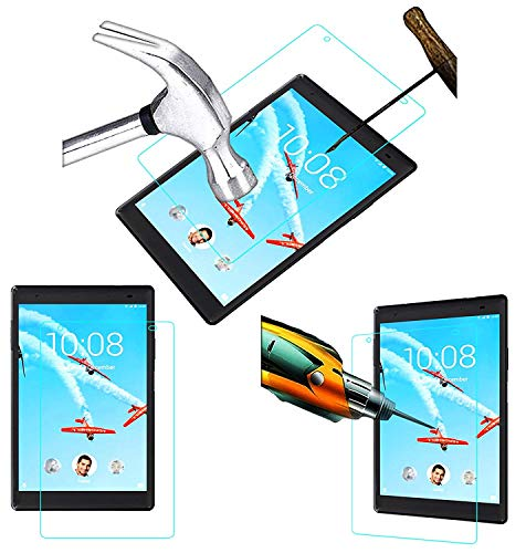 Acm Tempered Glass Screenguard compatible with Lenovo Tab 4 8 Plus Tb 8704x Tablet Screen Guard
