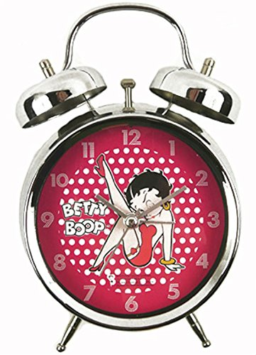 Betty Boop Classic Red /'Holly/' Travel Clock