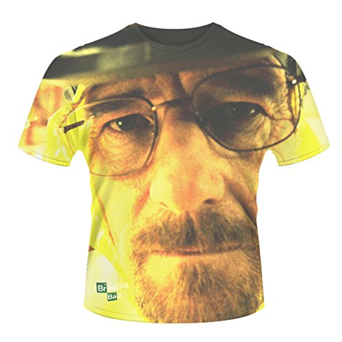 Plastic Head Breaking Bad Walter Face (Dye Sub) Tsds - T-shirt - Homme, Vêtements / Tee shirts
