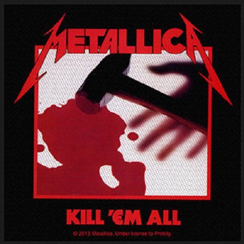 Metallica Kill 'Em All Patch Standard (Kill All Em Patch)
