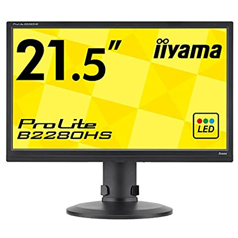 Iiyama B2280HS-B1 Ecran PC sans tuner LED 21.5'' 1920 x