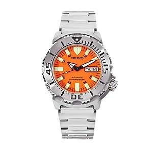 Seiko Men's Orange Monster 200M Professional Automatic Diver Bracelet Strap Watch # SKX781K1