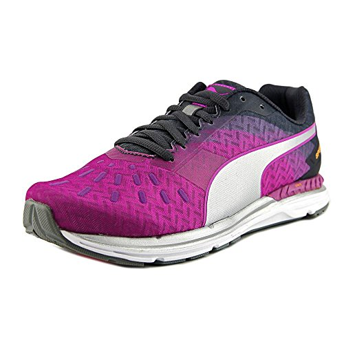 Puma Speed 300 Ignite Synthétique Baskets Purple-Periscope-Silver