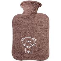Gummi-Thermoskanne Cute Cartoon Wärmflasche Heißwasser Tasche für Schmerzen kalt mit Abdeckung Große Größe 1L... preisvergleich bei billige-tabletten.eu