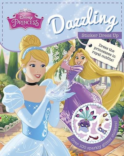 Disney Princess Dazzling Sticker Dress Up (Disney Doll Dressing) (Dress Up Uk)