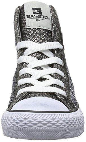 XTI - 41216, Scarpe da ginnastica Donna Argento (Silber (Plata))