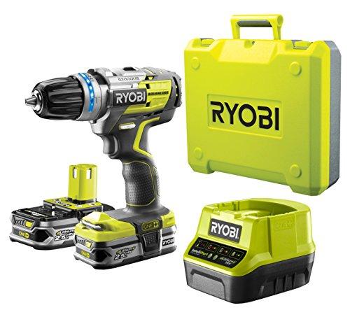 Ryobi R18DDBL-225B (18 V / 2,5 Ah / 6-teilig)