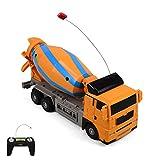 RC ferngesteuerter Betonmischer Baustellen-Auto Fahrzeug-Modell Für Kinder Ready-To-Drive, Inkl. Fernsteuerung, Neu