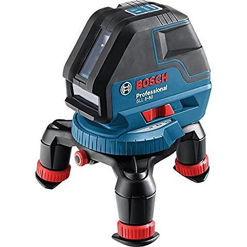 Bosch GLL 3-50P - Metro (LR6 (AA), 1.5V, 18h, 83 x 146 x 117 mm, 900g, IP54)