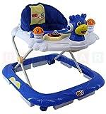 Lauflernhilfe DRAGON Blue / Blau Lauflernwagen Lauflerngerät Baby Walker