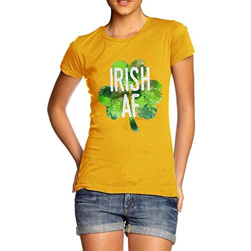 TWISTED ENVY Damen T-Shirt Gelb