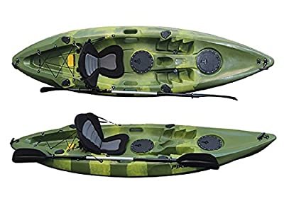 Fishing Kayak Grapper Pike Green Camo by Grapper